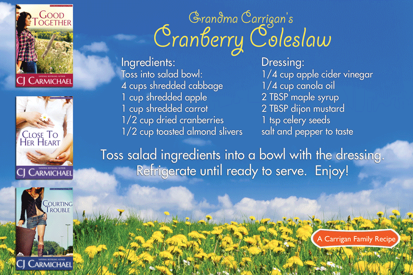 Grandma Cardigan's Cranberry Coleslaw